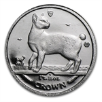 1994 1/25 oz Isle of Man Platinum Persian Cat .9995 Fine