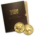 2006-2014 1 oz Gold American Buffalo Complete 9 Coin Collection