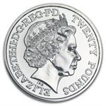 2013 UK St George and the Dragon 2013 UK £20 Fine Silver Coin