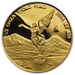 2014 1/2 oz Gold Mexican Libertad - Proof