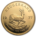 1977 1 oz Gold South African Krugerrand PF-65 UCAM NGC