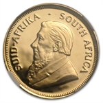 1987-GRC 1/4 oz Gold South African Krugerrand PF-68 UCAM NGC
