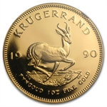 1990 GRC 1 oz Gold South African Krugerrand PR-68 UCAM NGC