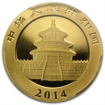 2014 (1/4 oz) Gold Chinese Panda - MS-69 PCGS