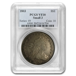 1803 Draped Bust Dollar Very Fine-30 PCGS Small 3