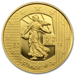 2014 1/2 gram Gold The Sower - The Denier of Charles the Bald