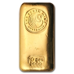 10 oz Perth Mint Gold Bar (Loaf-Style) .9999 Fine