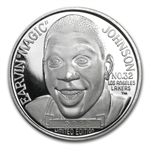 1 oz Magic Johnson Silver Round .999 Fine