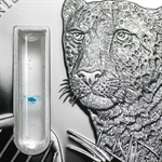 Congo Republic 2 oz 2014 Elements of Life - Cheetah