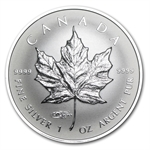 2014 1 oz Silver Reverse Proof Canadian Maple Leaf-WMF Privy Mark