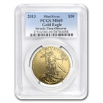 2013 1 oz Gold American Eagle Mint Error MS-69 PCGS