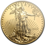 2012 1/2 oz Gold American Eagle Mint Error MS-69 PCGS