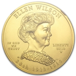 2013-W 1/2 oz Uncirculated Ellen Wilson MS-70 NGC Early Release