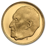 Germany 1957 Gold Medal (0.2304 AGW) Adenauer