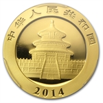 2014 1/2 oz Gold Chinese Panda MS-70 PCGS
