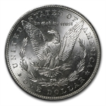 1885-S Morgan Dollar MS-63 PCGS VAM-6 S over S Top-100