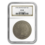 1795 Draped Bust Dollar Extra Fine-40 NGC - Centered Bust