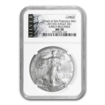 2013 (S) Silver American Eagle - MS-70 NGC - ALS Label/ER