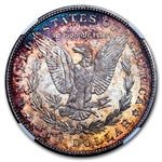 1878-1904 Morgan Dollars - MS-66 NGC - Beautifully Toned
