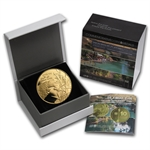 2013 Israel The Jordan River 1/2 oz Proof Gold Coin