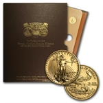 1986-1991 1/4 oz Gold American Eagle - Roman Numeral Date Set