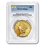 $20 Gold Liberty Double Eagle - MS-66 PCGS