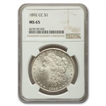 1892-CC Morgan Dollar MS-65 NGC