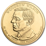 2013-P Woodrow Wilson Position A Presidential Dollar MS-67 PCGS
