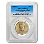 2013-P William H. Taft Position A Presidential Dollar MS-66 PCGS