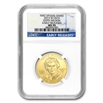 2013-W 1/2 oz Uncirculated Edith Wilson MS-70 NGC ER