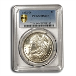 1892-O Morgan Dollar - MS-64+ Plus PCGS