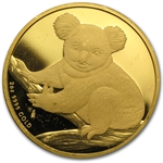 2009 2 oz Proof Australian Gold Koala (Abrasions)