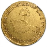 Mexican Eight Escudos Gold 1827 XF-45 NGC