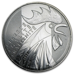 2014 10 Euro Silver The Rooster (Face Value Coins)
