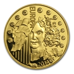 2014 1/2 gram Gold Europa Series - 50th Anniv. of European Space