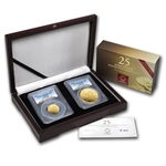 2014 2-Coin Gold Austrian Philharmonic Proof Set PR-70 DCAM PCGS