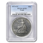 1873-CC Trade Dollar Almost Uncirculated-53 PCGS