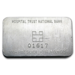 10 oz Hospital Trust National Bank Silver Bar .999 Fine (Pressed)