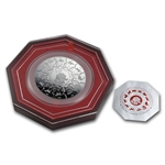 2014 Singapore 13-in-1 8 oz Silver Proof-Like Puzzle Coin Set
