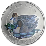 2014 Ducks of Canada $0.25 Coloured – Pintail