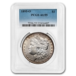 1895-O Morgan Dollar Almost Uncirculated-55 PCGS