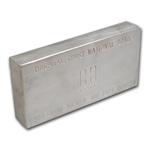 100 oz Hospital Trust National Bank Silver Bar .999 Fine (Struck)
