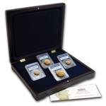 Great Britain 2006 Gold 4 Coin Sovereign Set PR-69 DCAM PCGS