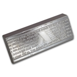 100 oz A-Mark Stackable Silver Bar .999 Fine