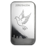 5 oz Dove of Peace Silver Bar .999 Fine