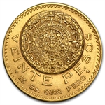Mexican Gold 20 Pesos (Better Dates (AU/BU) AGW .4823)