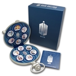 2013 1/2 oz. Silver Niue $2 Doctor Who 11 Coin Set 5.5 oz. ASW