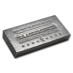 100 oz U. S. Assay Office Silver Bar .999 Fine (Struck, Scruffy)