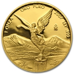 2007 1 oz Gold Mexican Libertad -Proof (Abraisions)