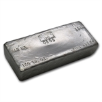 100 oz 1984 Sunshine Silver Bar (Vintage, Poured) .9995 Fine